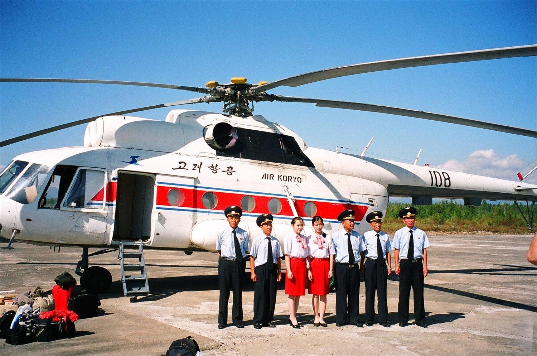 Corea - Mi-8 En Corea del Norte. Mi-8T+Hip-C++108++++Pyongyang