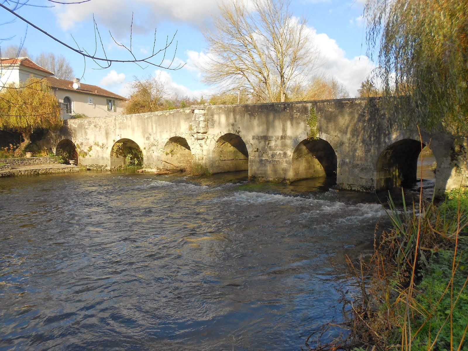 The old mill bridge...10th century