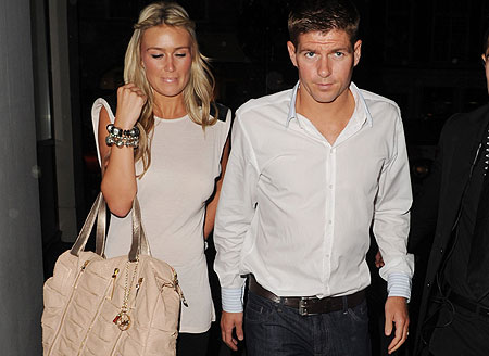 Steven Gerrard with WifeSteven Gerrard Wife