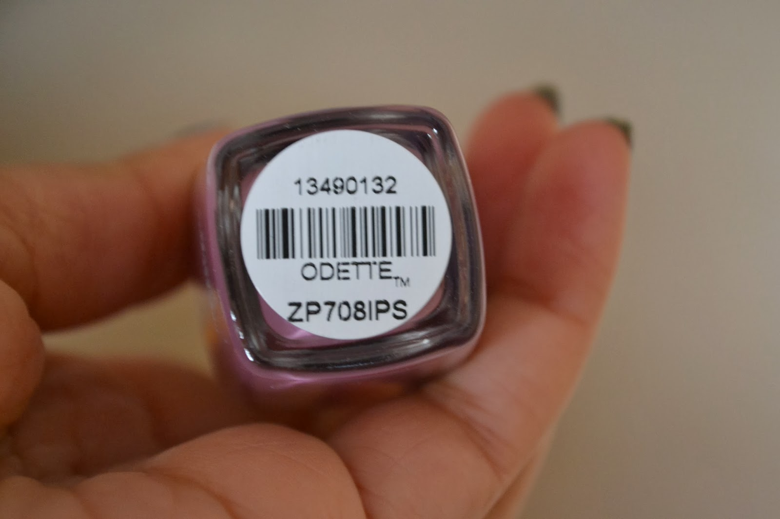 Zoya nail polish in the shade Odette