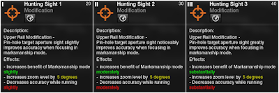 APB Reloaded - Weapon Mod Hunting Sights