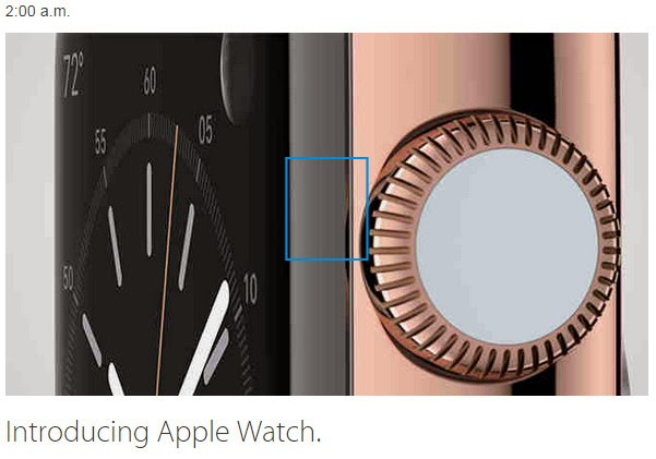 Apple Watch Announcement
