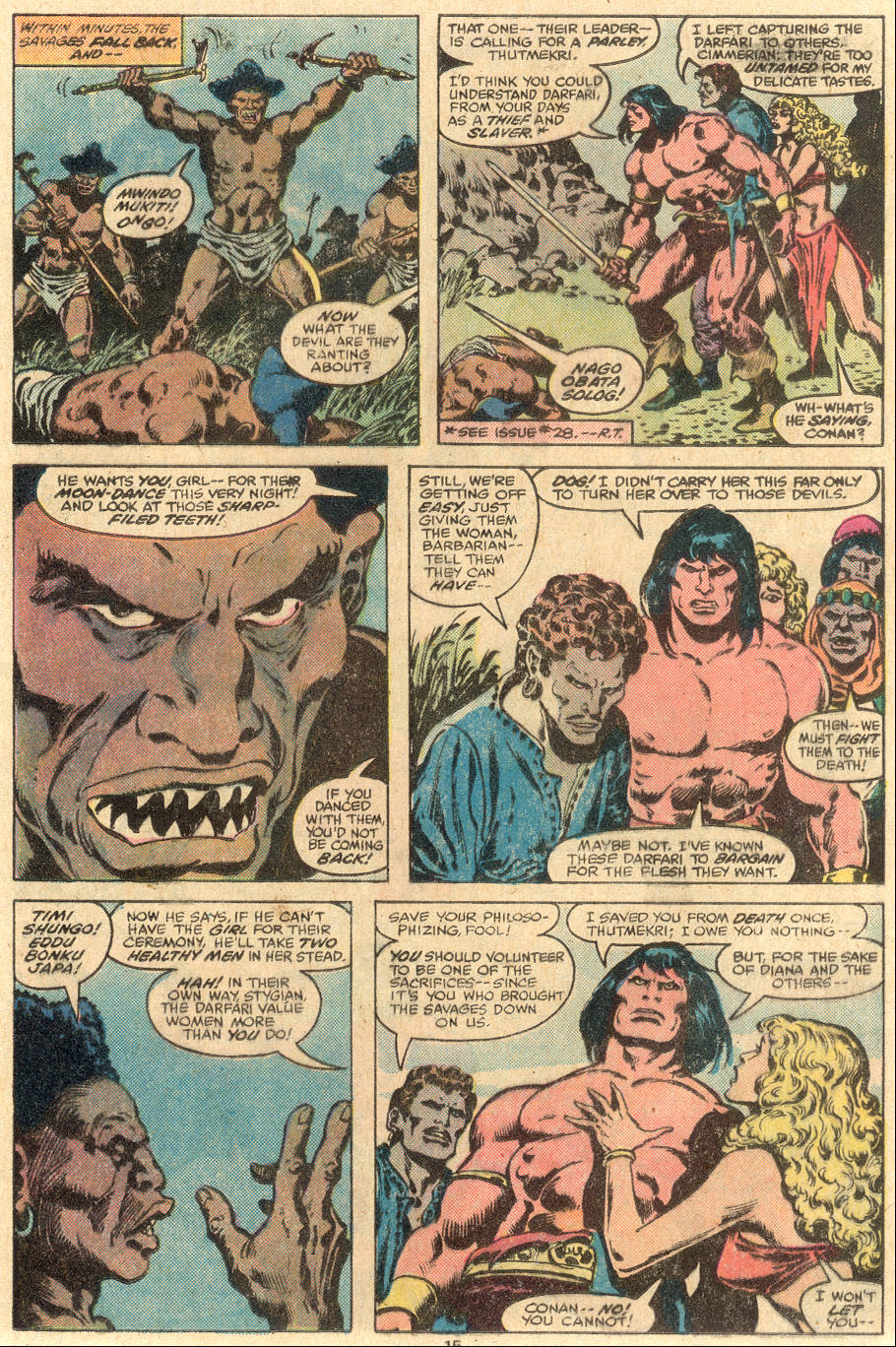 Conan the Barbarian (1970) Issue #108 #120 - English 10