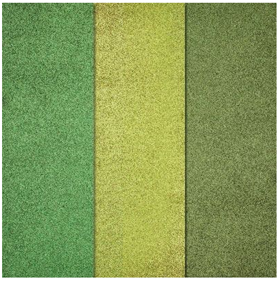 Green Glitter Paper
