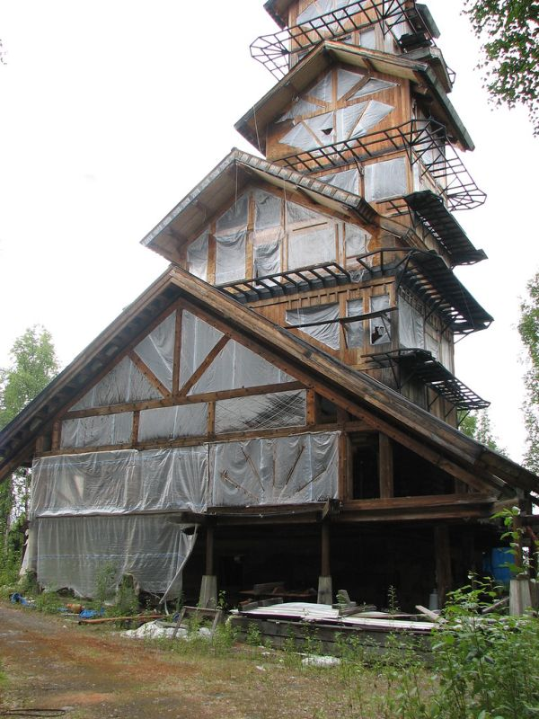 dr seuss house in alaska damn cool pictures. Black Bedroom Furniture Sets. Home Design Ideas