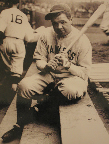Bleeding Yankee Blue: THINKING ABOUT THE BEST RIVALRY IN BASEBALL Babe Ruth Yankees