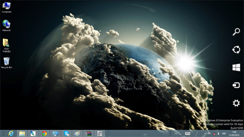 After Earth The Movie 2013 Windows 8 Theme