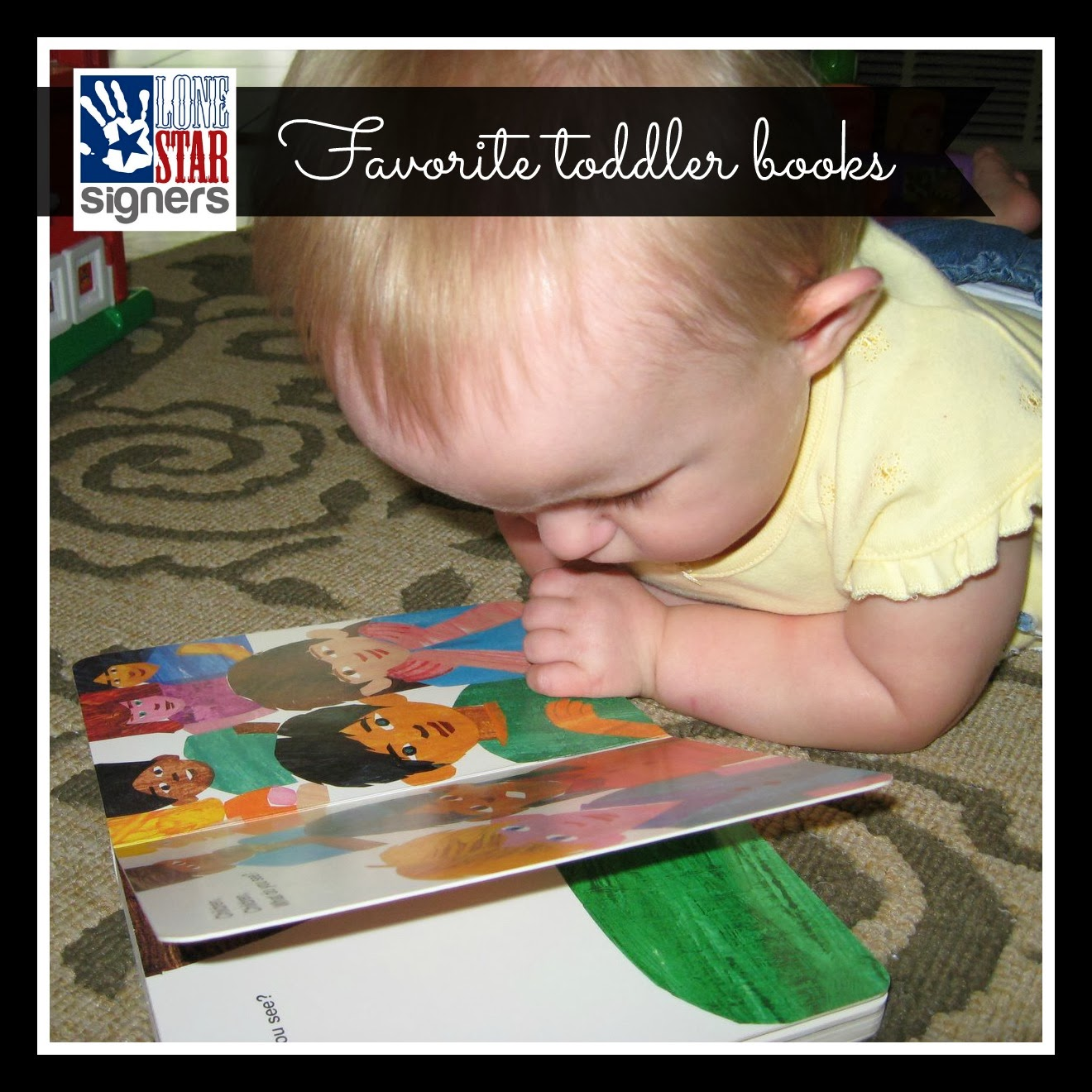 Toddler Book Recommendations | Lone Star Signers