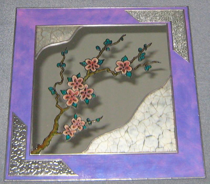 Manualidades y trucos espejo floral for Manualidades con estano
