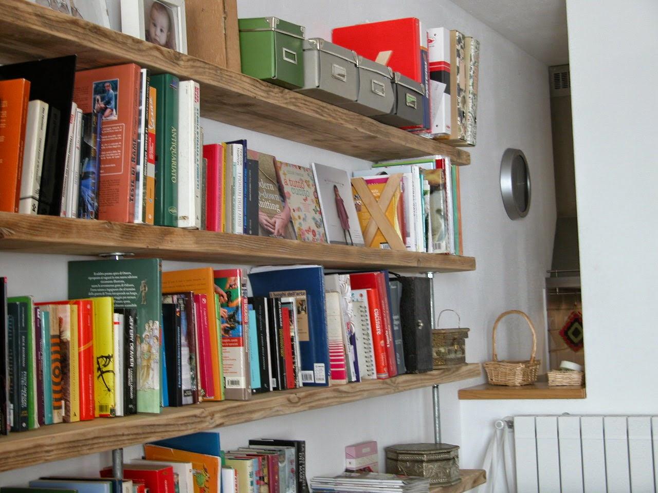 Lavoralalana libreria o ponteggio for Libreria fai da te