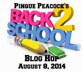 Pinque Peacock Back to School Blog Hop