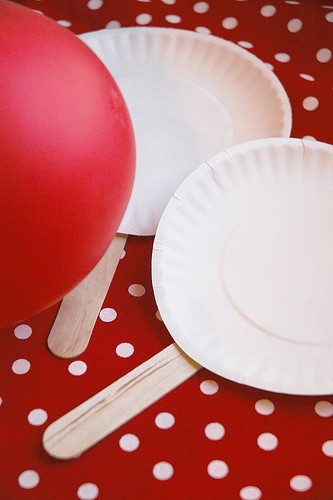 Paper Plate u0026 Balloon Ping Pong & Giggleberry Creations!: Paper Plate Playtime Palooza!