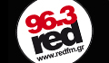 Red 96.3 fm  Rock Radio Logo