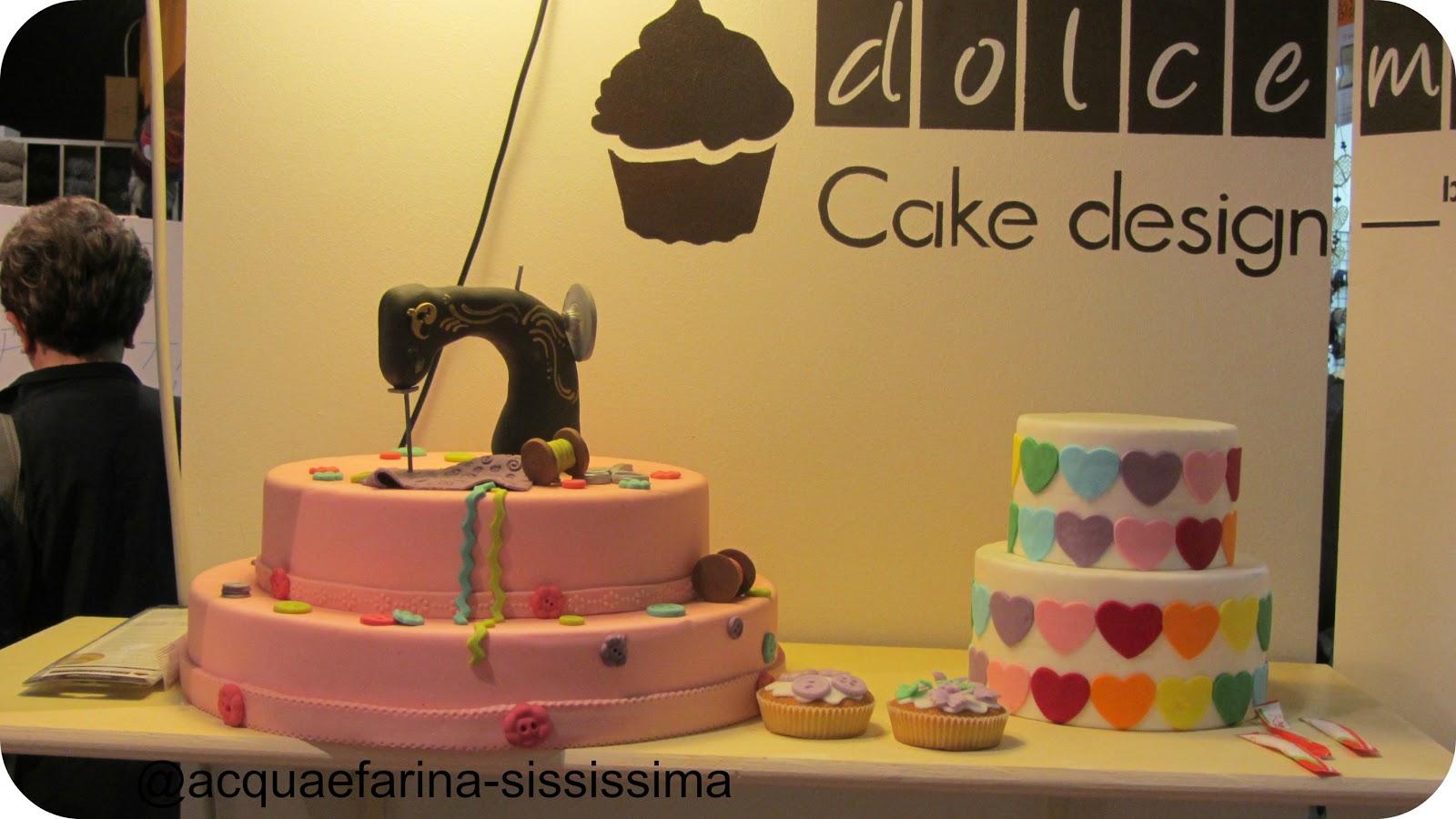Scuola Di Cake Design A Roma : acqua e farina-sississima: Hobby Show