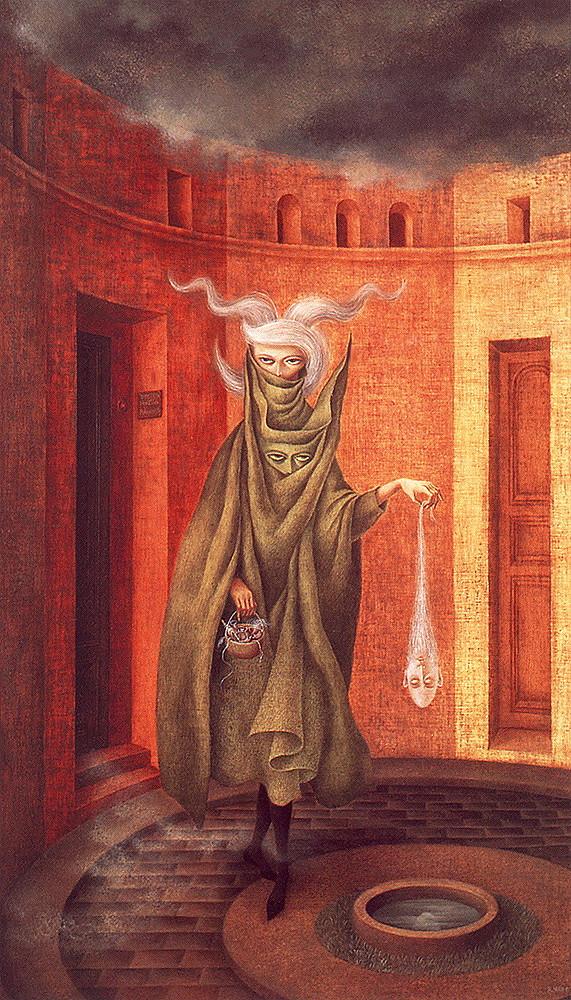 Mujer saliendo del psicoanalista