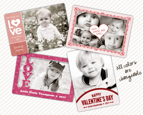 Picture 158 500x398 Valentine Photo Template Roundup