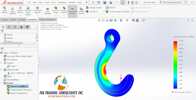 fea 2016 solidworks