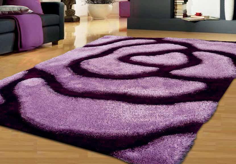 Como hacer una alfombra de lana free clida alfombra de for Alfombras redondas modernas