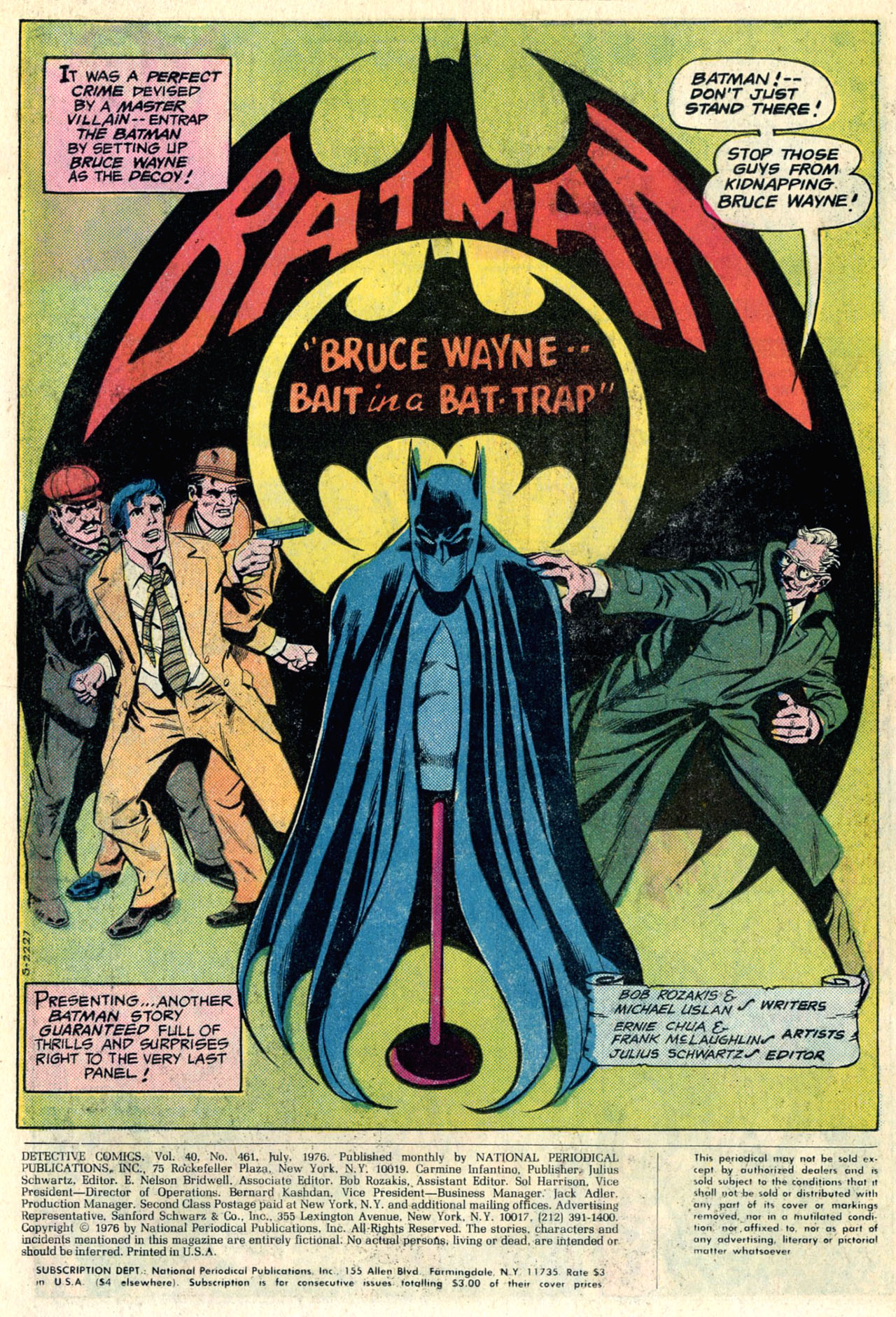 Detective Comics (1937) Issue #461 Page 3