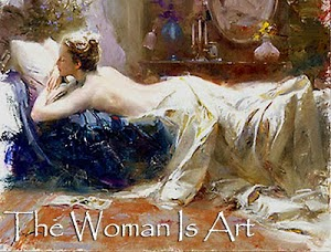 The Woman Is Art