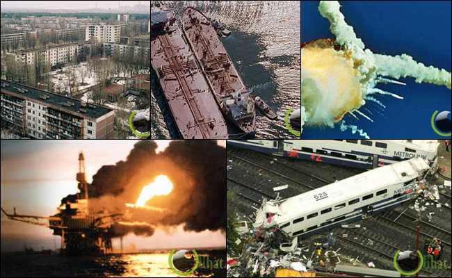 10 Kejadian Kecelakaan dengan Kerugian Terbesar di Dunia