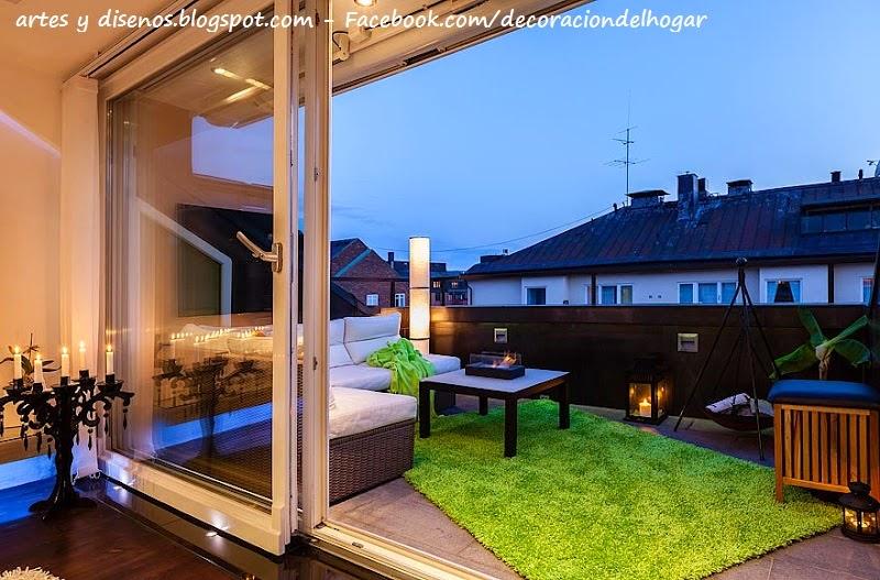 Alfombra terraza materiales de construcci n para la reparaci n - Alfombras para terrazas ...