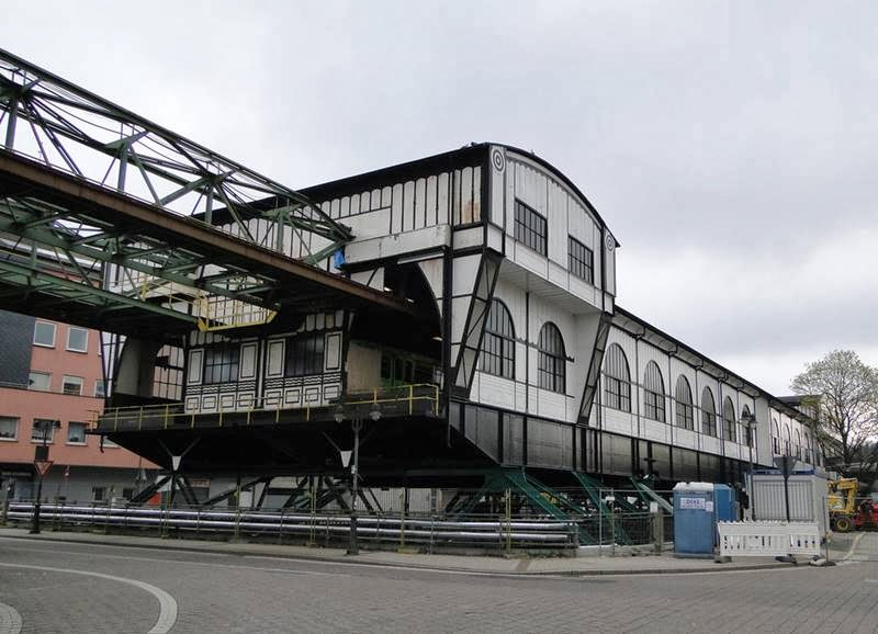 Schwebebahn Wuppertal Suspension Railway Station