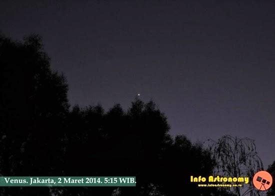 GALERI: Planet Venus, Si Bintang Pagi yang Cemerlang