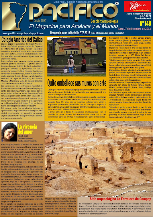 Revista Pacífico Nº 149 Arqueología