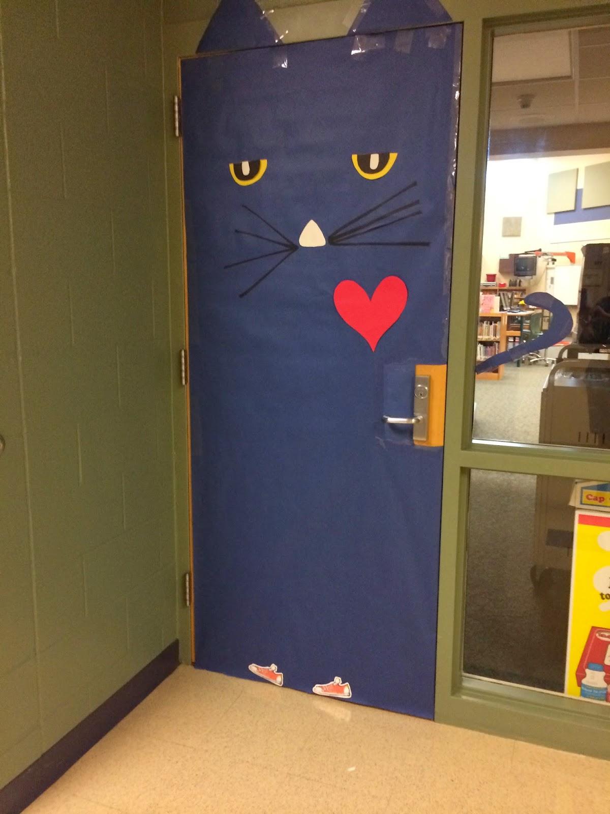 Iu0027ve Been Busy At School. Decorating My Door Like Pete The Cat