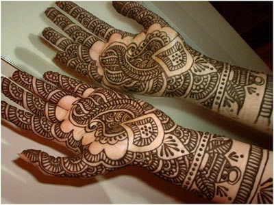 mehndi/henna tradition, India