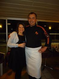 Con mi querido Chef!