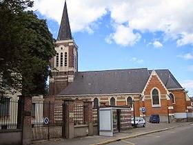 Eglise Saint Pierre d'Ascq - fermée pour travaux