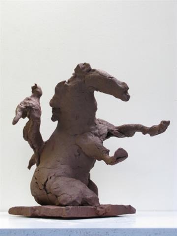 Collection Here Pokal See Fischer Fisch Hütte Kunst Bronze Skulptur Statue Figur Figur T Bronze