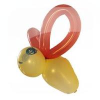 Globo abeja con sonido, Globoflexía, ciencia para niños