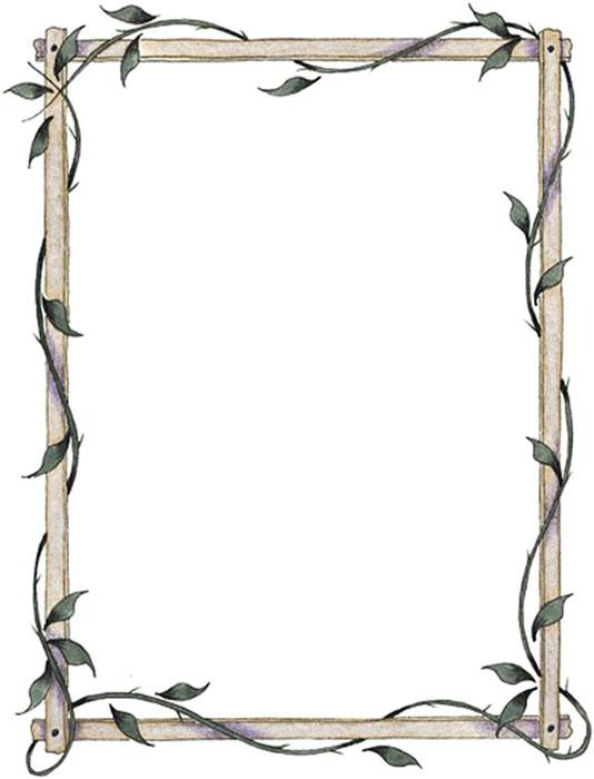 Margen para hojas - Imagui