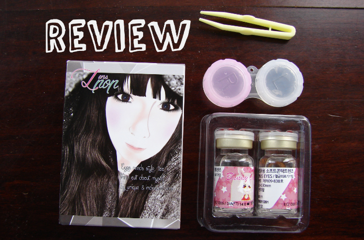 Review Klenspop Circle Lenses Bunny Color Brown.