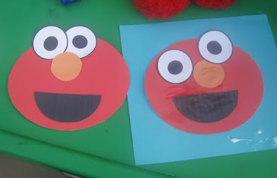 Making it count at home homeschool letter e week 10 for Elmo arts and crafts