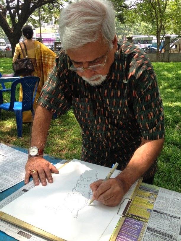 Art Park Bengaluru: Meet the Artists, Art Scene India, Image courtesy Ravi Cavale