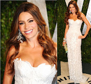 Sofia Vergara In Roberto CavalliVanity Fair Oscar Party