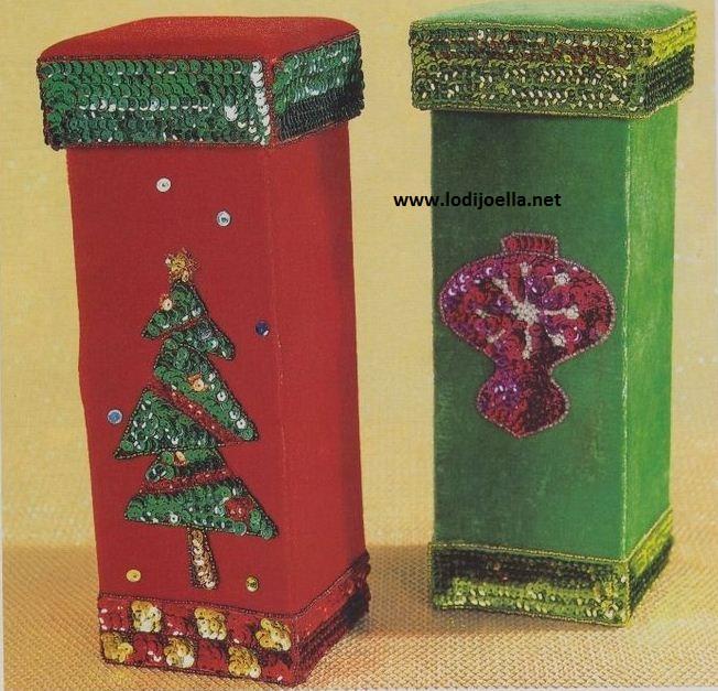 cajas navide as manualidades lodijoella On cajas navideñas manualidades