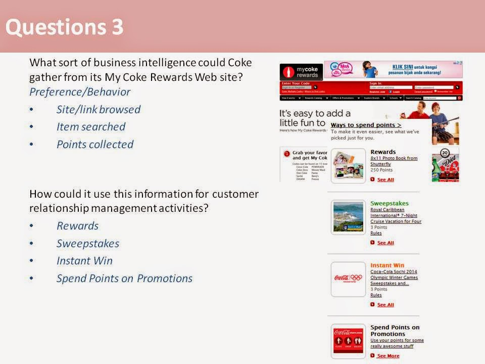 case study on coca cola is everything scm crm collaboration you name it Mgmd233 mis group assignment (sem 2 2012/2013) 2 closing case study one (p 59) coca-cola is everything: scm, crm, erp, social media, you name it in this case study, your students will explore how coca-cola uses technology to supports its business operations and initiatives.