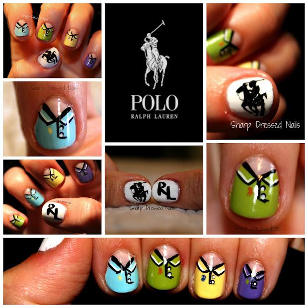 sharp dressed nails polo ralph