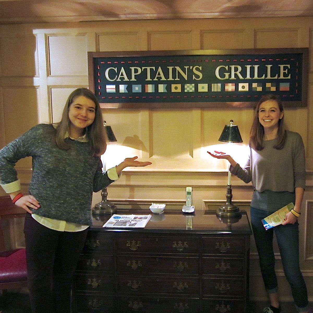 Captain's Grille Yacht Club Disney World