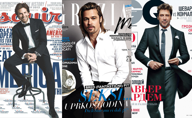 Men's Magazines Covers Christmas 2012