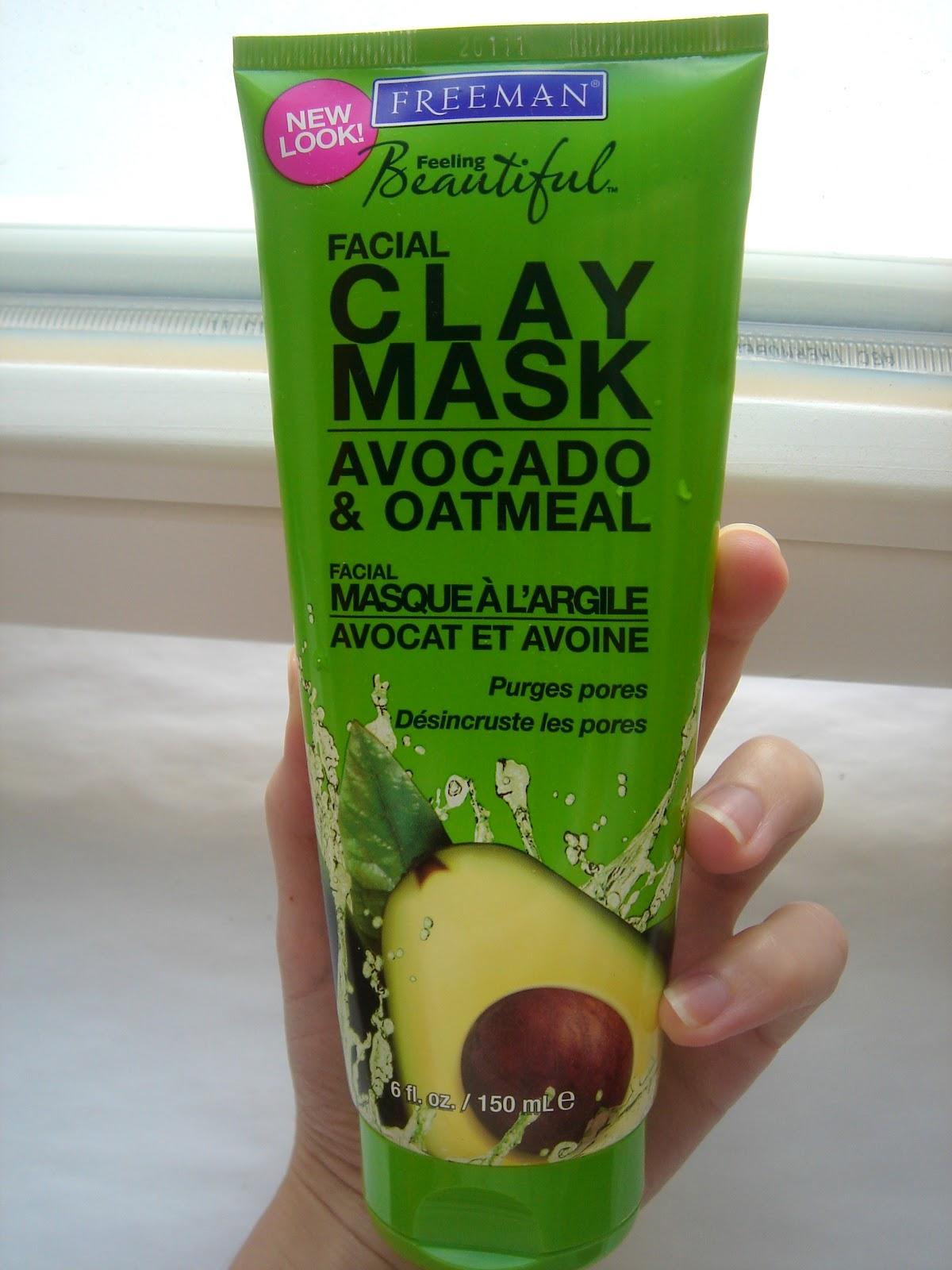 Avocado oatmeal facial mask topic Prompt