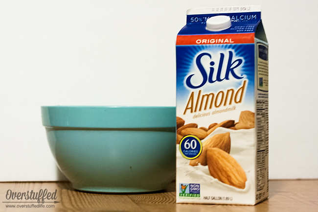Use Silk Almond milk to make your game day parties dairy free.