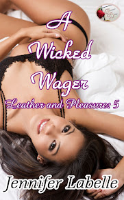 A Wicked Wager (Leather and Pleasure 5)