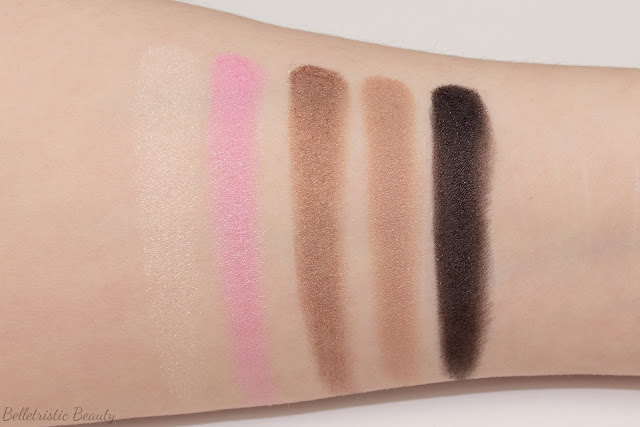 Yves Saint Laurent YSL Ombres de Jour Couture Palette Collector 5 Colors Ready To Wear Eyeshadow swatches Desir de Jour Collection Spring 2015