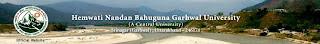 Ph.D. 2012 Results Hemwati Nandan Bahuguna Garhwal University